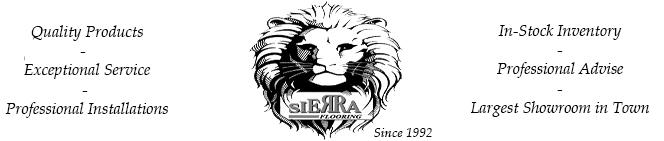 Sierra flooring